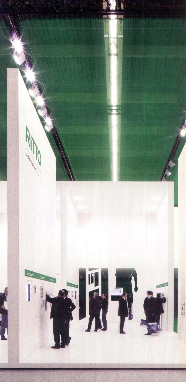 照明展展台设计搭建一波镨展览