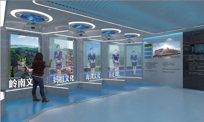 展厅设计搭建-波镨展览